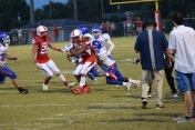 Madison Central bottles up Kynan Russell.