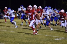 Zach Shouse if off to the races with a fumble recovery but the officials ruled the ball dead.