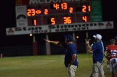 Anderson County coach Mark Peach.,