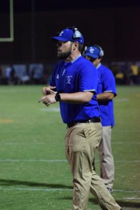 LaRue County coach Josh Jaggers.