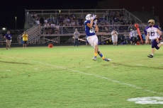 LaRue's Preston Self hauls in this pass that ended in a touchdown.