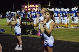 LaRue County cheerleaders.