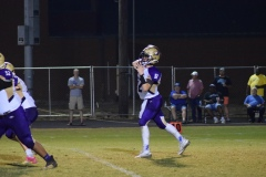 Campbellsville quarterback Arren Hash fires a pass.